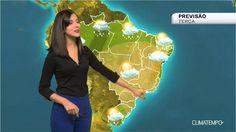 Previsão Brasil -  Umidade cai ao longo da semana
