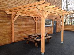 pergola douglas sur mesure , abri , terrasse , structure bois, abri voiture
