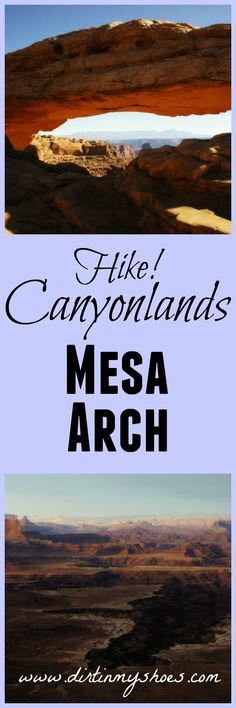 See the iconic Mesa Arch in Canyonlands National Park!  This website always has the best information on the national parks...I can't wait to go!