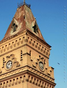 Karachi -- Empress Market tower#karachi#Pakistan