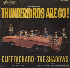 Cliff Richard + The Shadows, Thunderbirds & Gerry Anderson Hank Marvin, Sir Cliff Richard, Thunderbirds Are Go, Science Fiction Magazines, Si Fi, Favorite Cartoon Character, Vinyl Cover, Scarlet, Movies