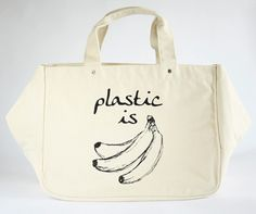 One Language Label // I could do w/out the words --- I love the shape of the bag