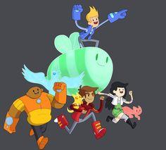 Bravest Warriors by BoukenRed on DeviantArt Cute Cartoon, Cartoon Art, Pendleton Ward, Big Bee, Warriors Wallpaper, Warrior 2, Bravest Warriors, Adventure Time Anime, I Love Anime