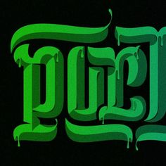 """beautifultype: """"Great details on that ambigram from @markcaneso. Full shot on @friendsoftype account. http://ift.tt/2gY4ll1 """""""