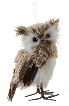 Free shipping and returns on MELROSE GIFTS Owl Ornament at Nordstrom.com. A feathery owl ornament lends a touch of nature-inspired whimsy to your holiday décor.