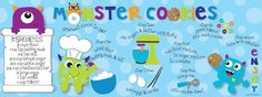 English    is    FUNtastic: Monster cookies