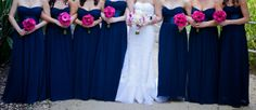 Navy blue and pink ~ Ballad's Photography