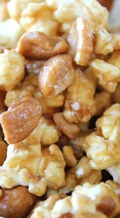 Cashew Caramel Corn.
