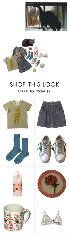 """""""cosy kitten"""" by gurl-interrupted ❤ liked on Polyvore featuring Humör, Topshop, Golden Goose and STELLA McCARTNEY"""