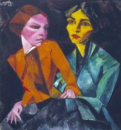 Lasar Segall – Duas Amigas – Coleção da Fundação Edson Queiroz