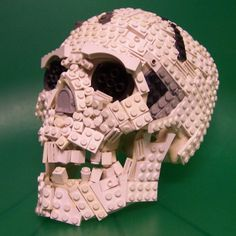Lego Skull - significantly cooler than the one posted earlier.