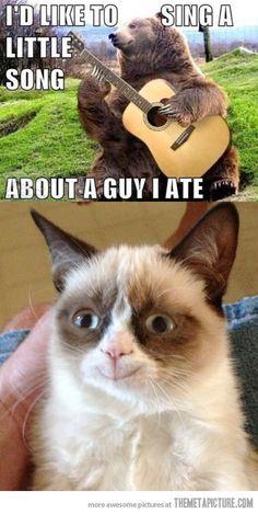 Grumpy Cat's favorite song…