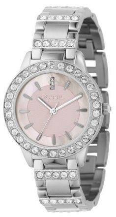 Fossil Womens ES2189 Stainless Steel Bracelet Pink Mother-Of-Pearl Glitz Analog Dial Watch Fossil,http://www.amazon.com/dp/B001S073P6/ref=cm_sw_r_pi_dp_CUDKrb445537488F