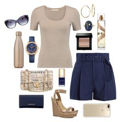 """""""Pleated Shorts"""" by loves-fashion-style ❤ liked on Polyvore featuring Michael Kors, Sea, New York, BCBGMAXAZRIA, Blue Nile, Tommy Hilfiger, Chanel, Speck, Dolce&Gabbana, Andrea Fohrman and MICHAEL Michael Kors"""