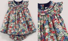 THORPE FRILL NECK DRESS, from the Liberty Mamas & papas collection