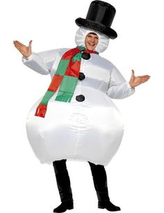 Adult Inflatable Snowman Costume