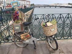This bicycle in its perfect setting sitting in Tavira Portugal, was just waiting to be photographed, I tried to do it justice with my iPhone, and without filters.