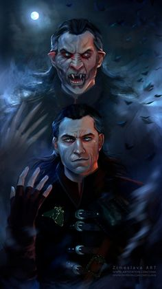 m Warlock Vampire Night story full moon Detlaff the Witcher 3 by ZIMOSLAVA The Witcher Game, The Witcher Wild Hunt, Witcher Art, The Witcher Geralt, Character Portraits, Character Art, Dracula, Witcher Monsters, Dark Fantasy
