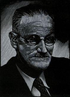 James Joyce by Barry Moser