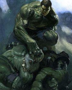 Hulk vs Maestro Artist: Gabrielle Dell'Otto