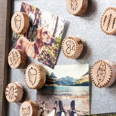 Learn how to create your own wood burned magnet set! Wood Burning Tips, Wood Burning Techniques, Wood Burning Crafts, Wood Burning Patterns, Wood Burn Designs, Wood Slice Crafts, Christmas Wood, Beach Christmas, Diy Holz