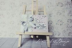 Kartka na Chrzest #chrzest #card #handmade #scrap #scrapbooking #rękodzieło #hobby #PattArtDesign Magazine Rack, Handmade, Home Decor, Craft, Interior Design, Home Interior Design, Home Decoration, Decoration Home, Arm Work