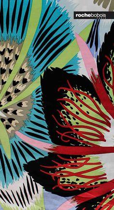 #estampado #estamapadoflores #color #colores #estampadocolores #telaflores #telacolorida #combinacioncolor #Rochebobois #tela #telacolores #telamoderna #telatapiceria #telacolor #ideastela #colorescalidos #color #diseño #estilo #moderno