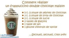 The Delicious Homemade Chocolate Frappuccino Recipe. The post The Delicious Homemade Chocolate Frappuccino Recipe. Starbucks Frappuccino, Chocolate Frappuccino Recipe, Starbucks Recipes, Starbucks Drinks, Coffee Recipes, Homemade Chocolate, Chocolate Desserts, Cocktails Vodka, Starbucks Drinkware