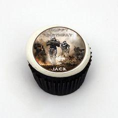 HALO REACH XBOX 360 GAME Edible Birthday Cake Image Cupcake Topper Favor $7.90/12