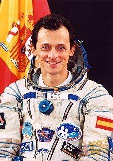 Pedro Duque, Spanish astronaut.