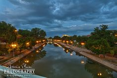 Timisoara - Bega Canal at dusk Romania, Dusk, Great Places, River, Explore, Adventure, Photo And Video, World, Outdoor Decor