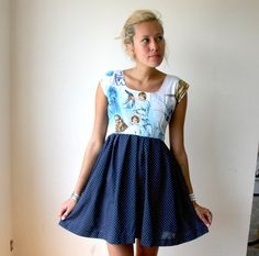 star wars dress? yes please!!! I've got to work on my sewing skills so that i can make one!