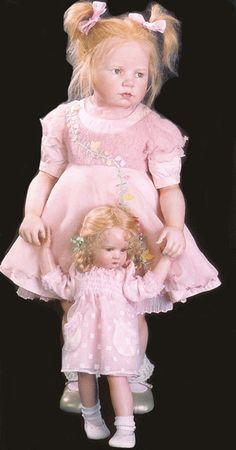 Hildegard Gunzel 2005 Wax over Porcelain Dolls