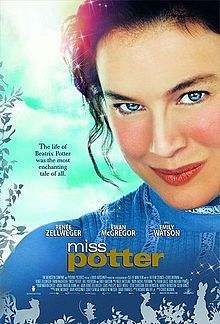 Miss Potter is a 2006 film directed by Chris Noonan. It is a biopic of children's author and illustrator Beatrix Potter, and combines stories from her own life with animated sequences featuring characters from her stories, such as Peter Rabbit.