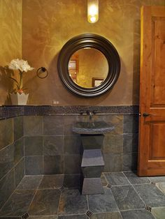 Gorgeous Room Photos - contemporary - powder room - other metro - Teri Fotheringham Photography