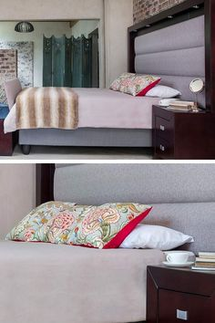 You spend almost half of your day in your bedroom. Make it a beautiful space with our range of bedroom suites.