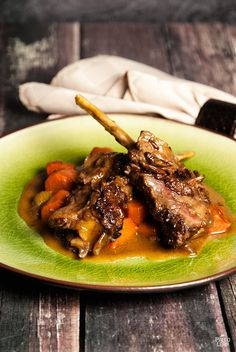 SCD Red Wine Braised Short Ribs (*Use SCD tomato paste & substitute coconut flour for tapioca starch...)
