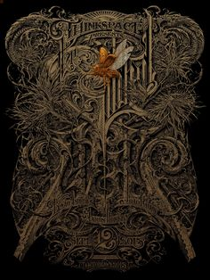 Aaron Horkey Horkey The Gilded Age Show Poster 2015 Thinkspace Gallery Esao Andrews João Ruas Joao Ruas Ink Illustrations, Illustration Art, Art Hippie, Omg Posters, Typography Drawing, Psy Art, Poster Prints, Art Prints, Gilded Age