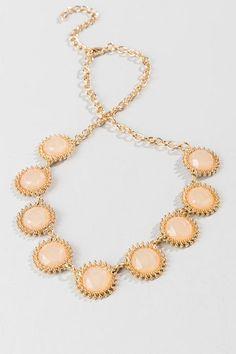 Shreveport Jewel Burst Necklace in Pink
