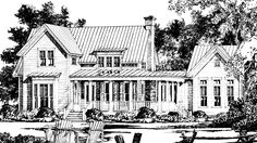Westbury Park - Moser Design Group | Southern Living House Plans