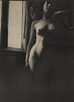 Man Ray, Self-Portrait with Meret Oppenheim, 1933