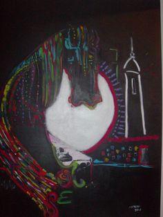 A torre o cavalo e o piano
