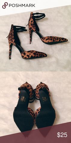 Spotted while shopping on Poshmark: Cheetah print pumps! #poshmark #fashion #shopping #style #Shoes