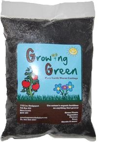 Growing Green Earthworm Castings Fertilizer for your vegetables, flowers, shurbs and anything that grows. And it is in Wedgeport, NS Patio Tomatoes, Growing Greens, Earthworms, Organic Fertilizer, Plant Growth, Nova Scotia, Mother Nature, Unique Gifts