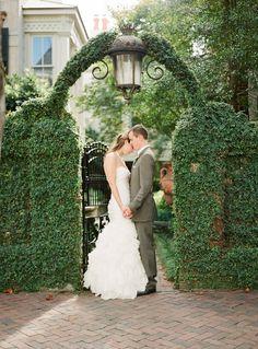 Savannah Wedding by Lauren Kinsey Photography | Style Me Pretty