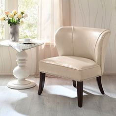 Madison Park Hilton Concave Back Armless Chair - Ivory - ... https://www.amazon.com/dp/B00LPATUQE/ref=cm_sw_r_pi_dp_x_ccIJyb1H902C7