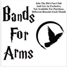*************************The Bands For Arms Fan Club Membership