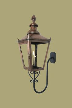 The CopperSmith Franklin Street Gas Lantern Available at Mayer Lighting Showroom .mayerlighting.com & Shop your premier on-line source for Gas and Electric Copper ... azcodes.com