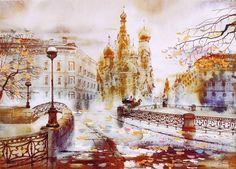 Светлана Гаджиева 水洗過的歐洲