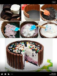 Ice cream cake diy. You can switch this up every which way.